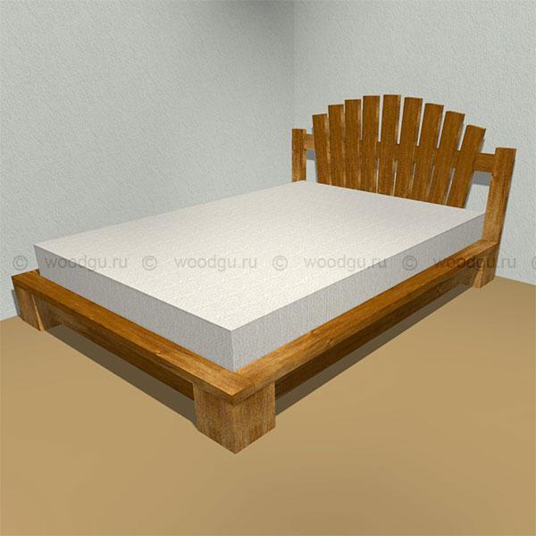 кровати из дерева фото
