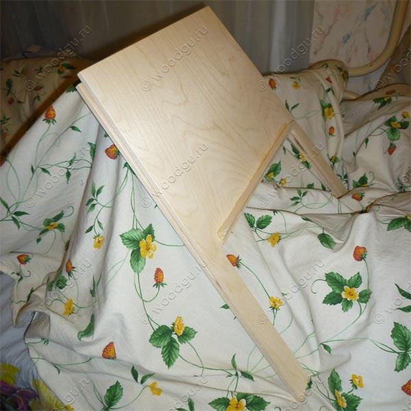 Подставка под ноутбук из фанеры
