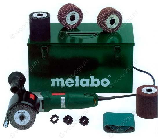 инструмент для браширования щеточная машинка Metabo SE 12-115